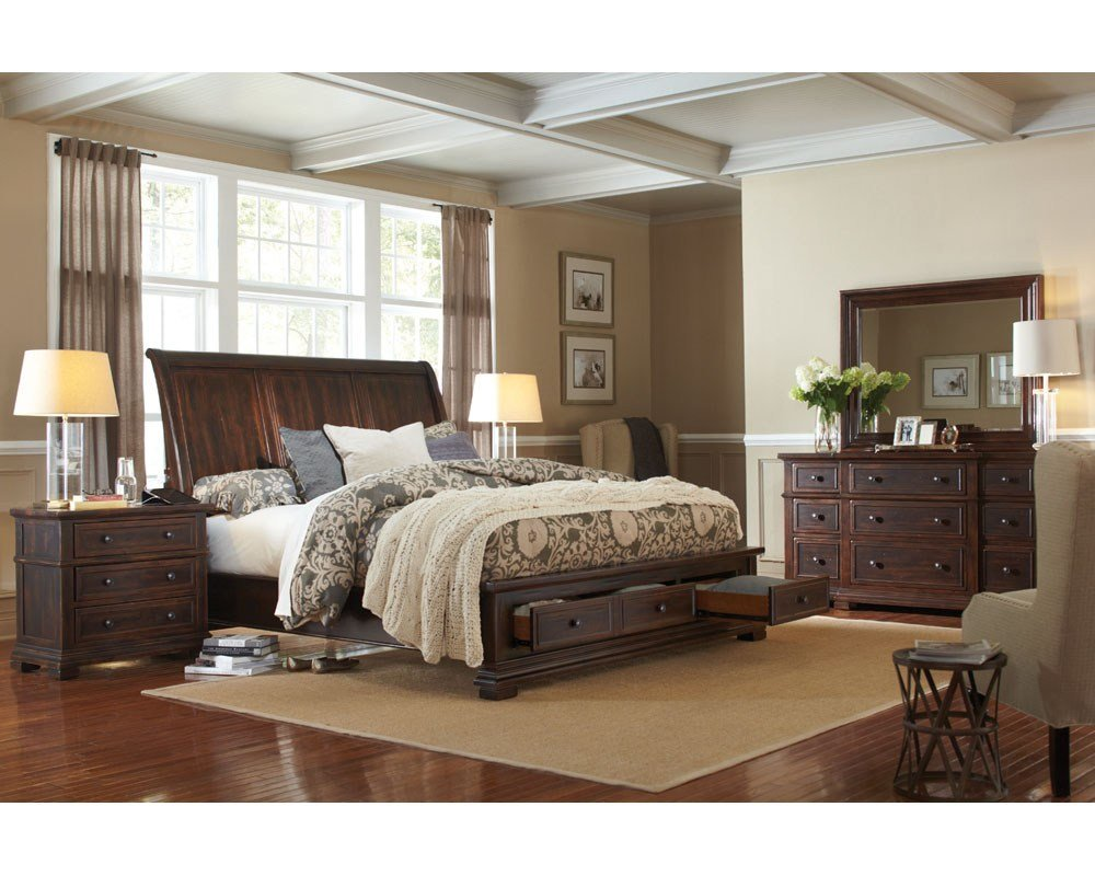 Best Aspenhome Bedroom Set W Storage Bed Westbrooke Asi59 400Sset With Pictures