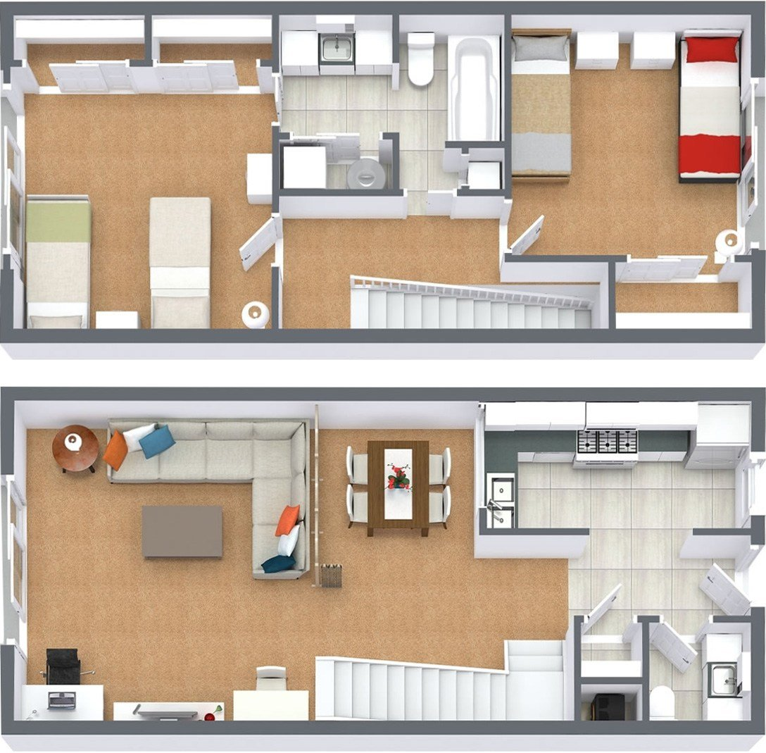 Best Floor Plans Sycamore Lane Apartments With Pictures