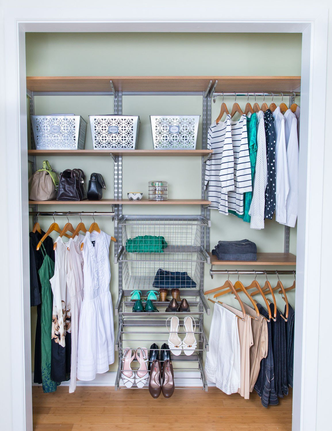 Best Organized Living Bedroom Closets With Pictures
