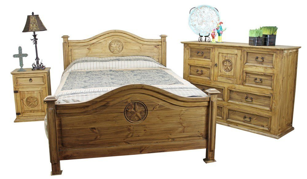 Best Mexican Pine Furniture Texas Star Rustic Pine Bedroom Set With Pictures