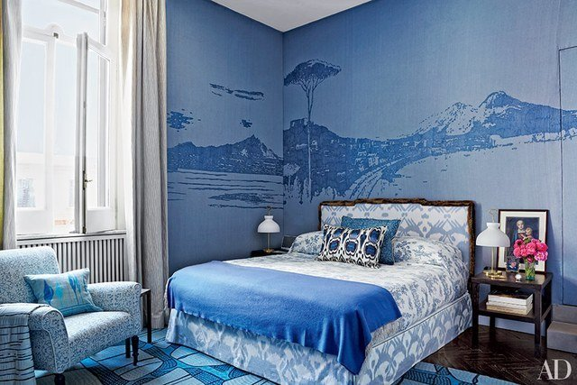 Best Bedroom Decorating Inspiration Soothing Shades Of Blue With Pictures