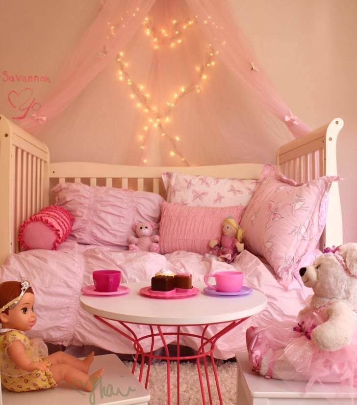 Best Tea Time Pink Princess Butterfly Room For Girls With Pictures
