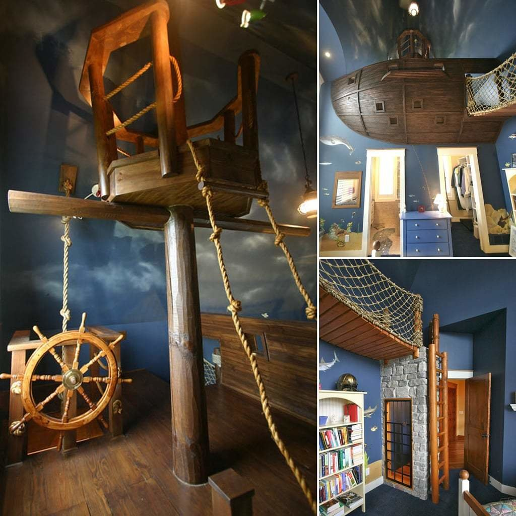 Best Pirate Ship Bedroom Photos Popsugar Home With Pictures