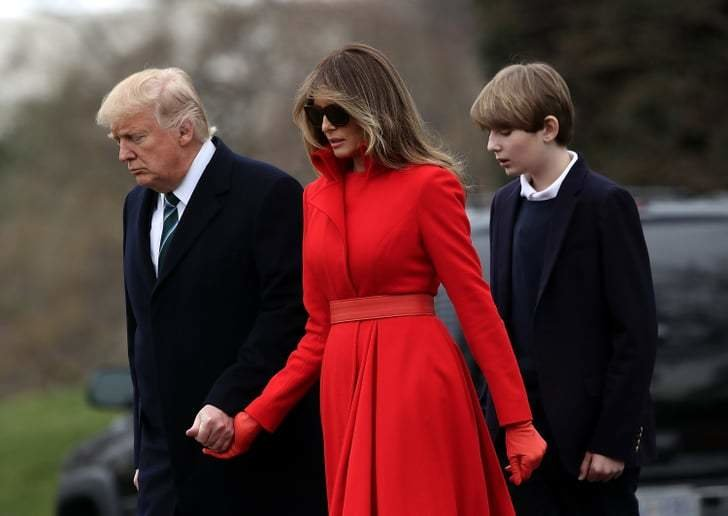 Best Melania And Barron Trump Will Move Into The White House With Pictures