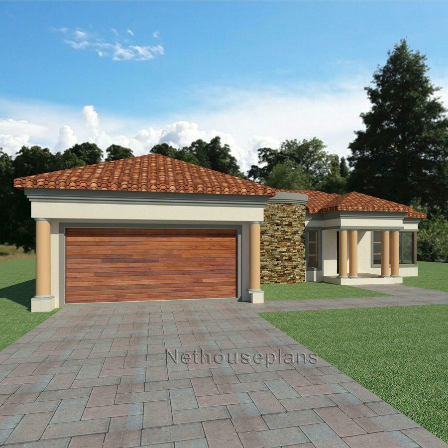 Best 3 Bedroom House Plan South African House Designs Nethouseplansnethouseplans With Pictures