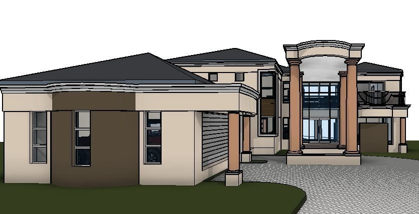 Best Modern Home Design 520Sqm Double Story House Plan With Pictures