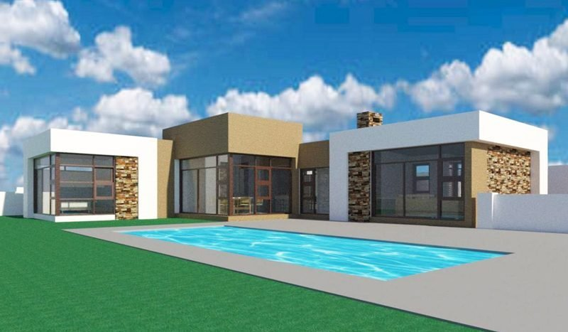 Best A Beautiful Single Story House Plan 3 Bedroom House With Pictures