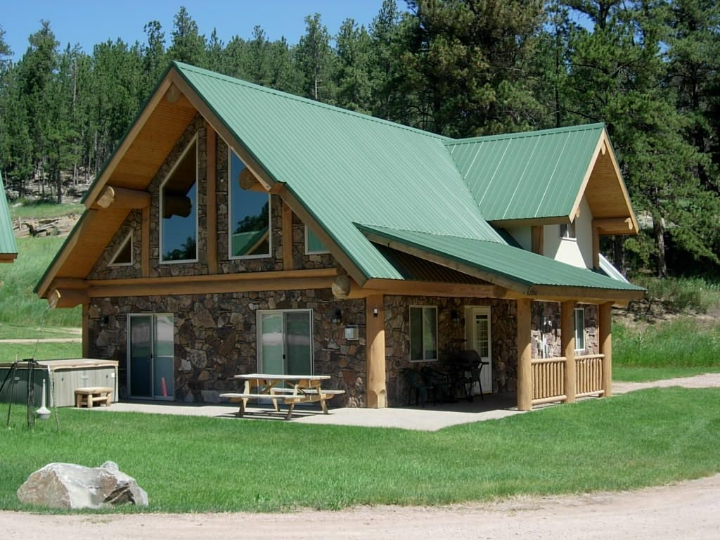 Best 2 Bedroom Log Cabin Located In Heart Of Black Hills Hill With Pictures