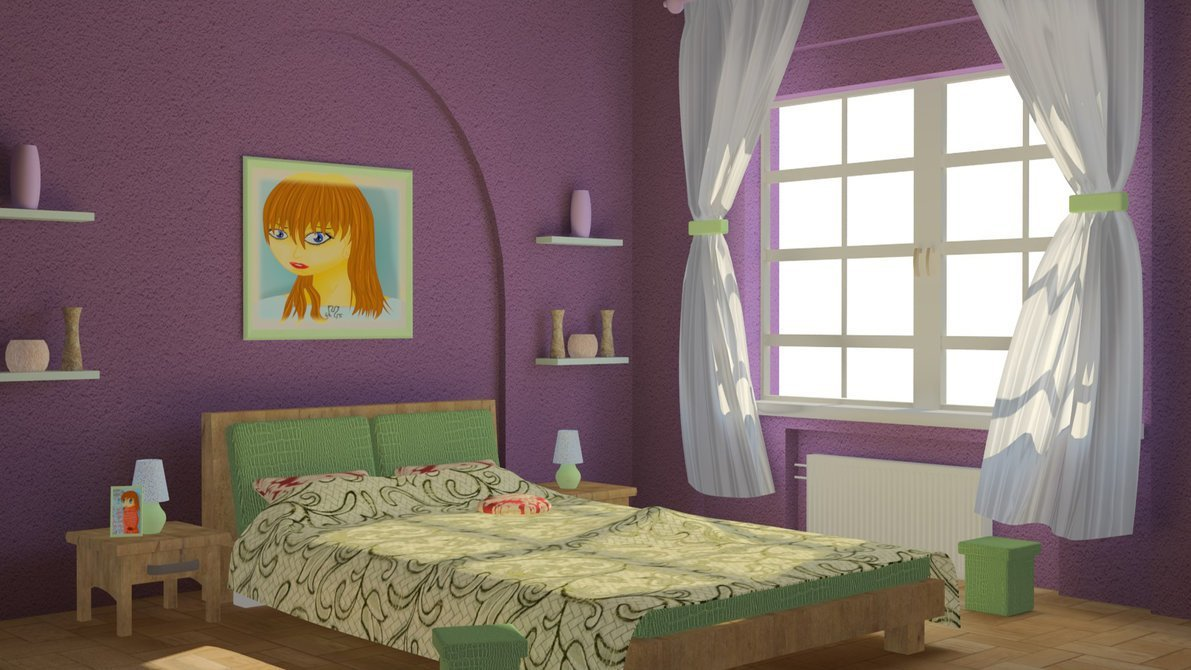 Best My First Render Bedroom By Bartoszbuster On Deviantart With Pictures