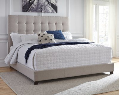 Best Dolante King Upholstered Bed Ashley Furniture Homestore With Pictures