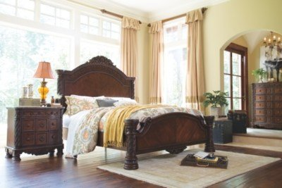 Best North Shore King Panel Bed Ashley Furniture Homestore With Pictures