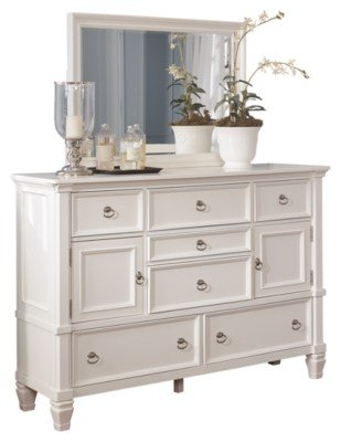 Best Prentice Dresser And Mirror Ashley Furniture Homestore With Pictures