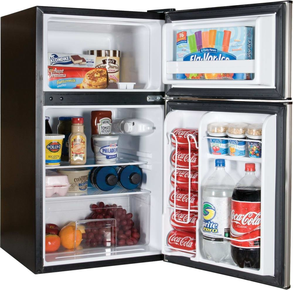 Best Haier Hc31Tg42Sv 19 Inch Compact Refrigerator With 3 2 Cu With Pictures