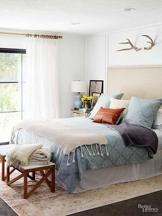 Best How To Decorate A Small Bedroom Better Homes Gardens With Pictures