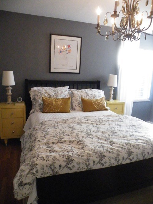 Best Our Gray And Yellow Bedroom A Date With Design With Pictures