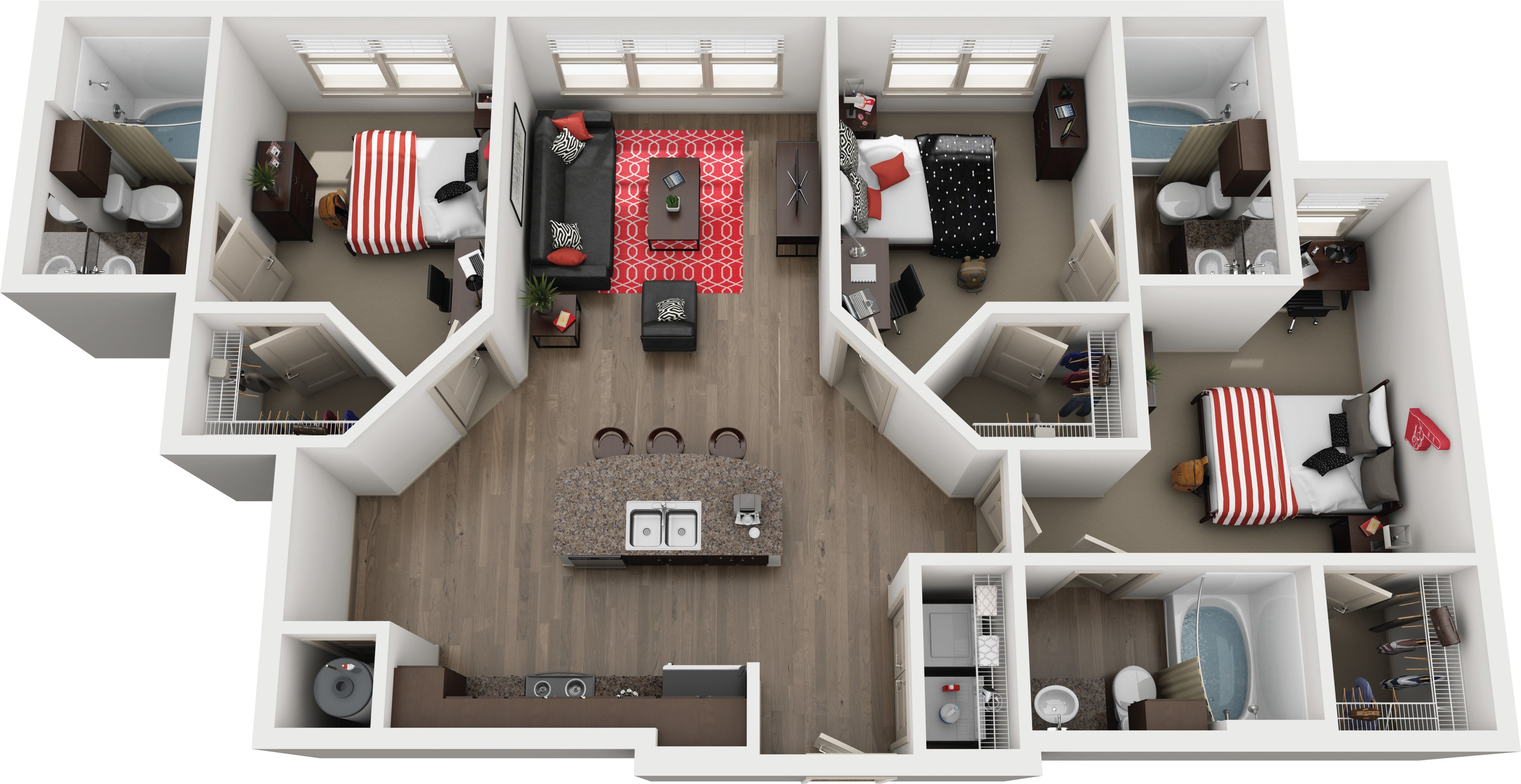 Best 50 Fresh One Bedroom Apartments Tallahassee Amazing Home With Pictures