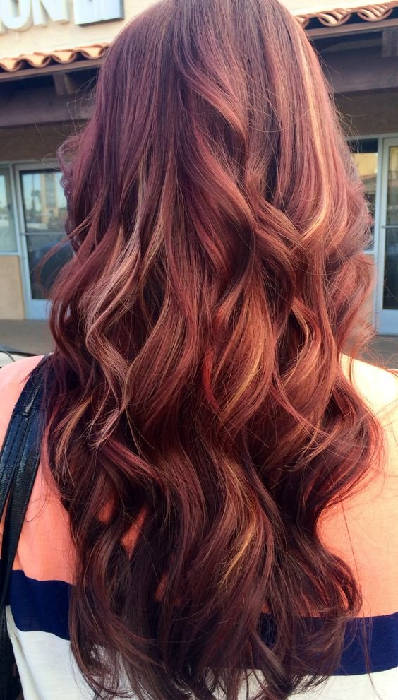 Free 12 Hottest Mahogany Hair Color Highlights For Brunettes Wallpaper