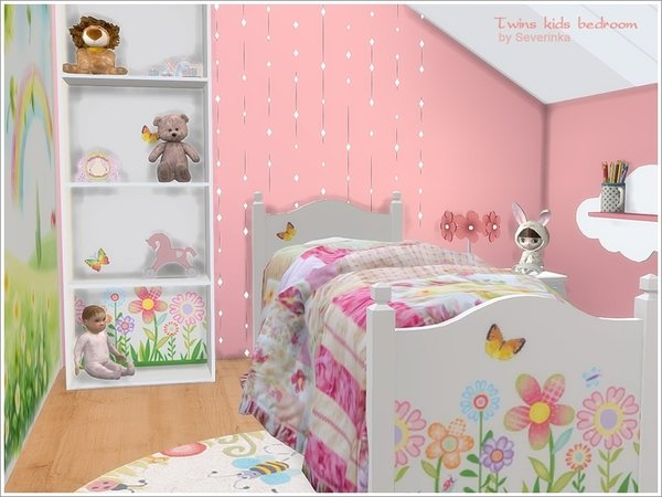 Best My Sims 4 Blog Twin Kids Bedroom Set By Severinka With Pictures