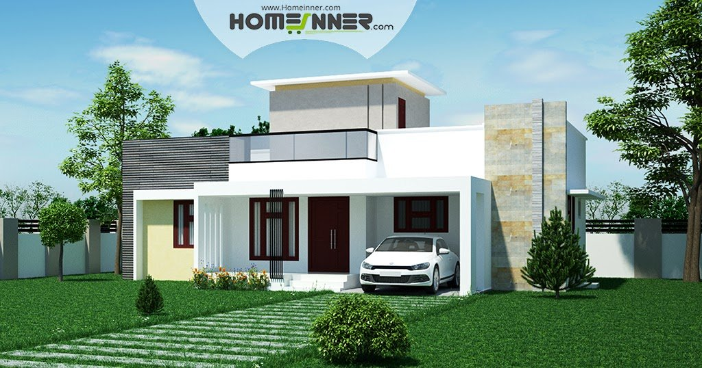 Best Low Cost 2 Bhk Indian House Design For 971 Sqft With Pictures
