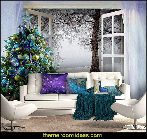 Best Decorating Theme Bedrooms Maries Manor Peacock Color Christmas Decorating Peacock Color With Pictures