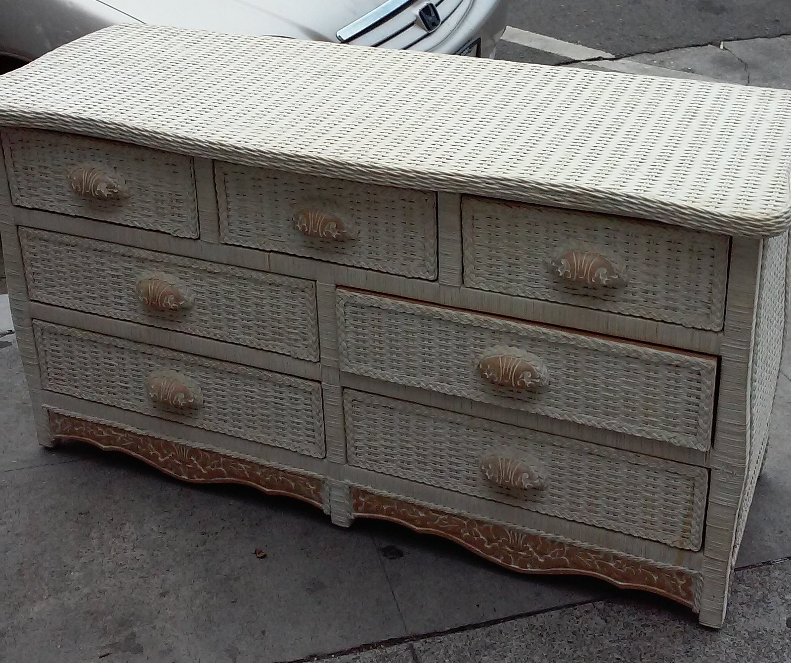 Best Uhuru Furniture Collectibles Sold 5727 Pier 1 Jamaica Collection 7 Drawer Dresser 135 With Pictures