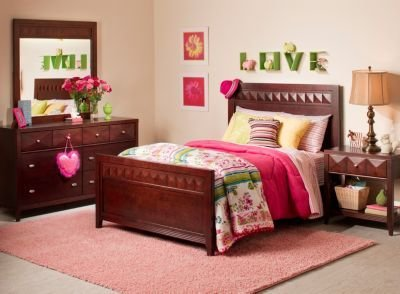 Best Shadow 4 Pc Full Bedroom Set Espresso Raymour Flanigan With Pictures