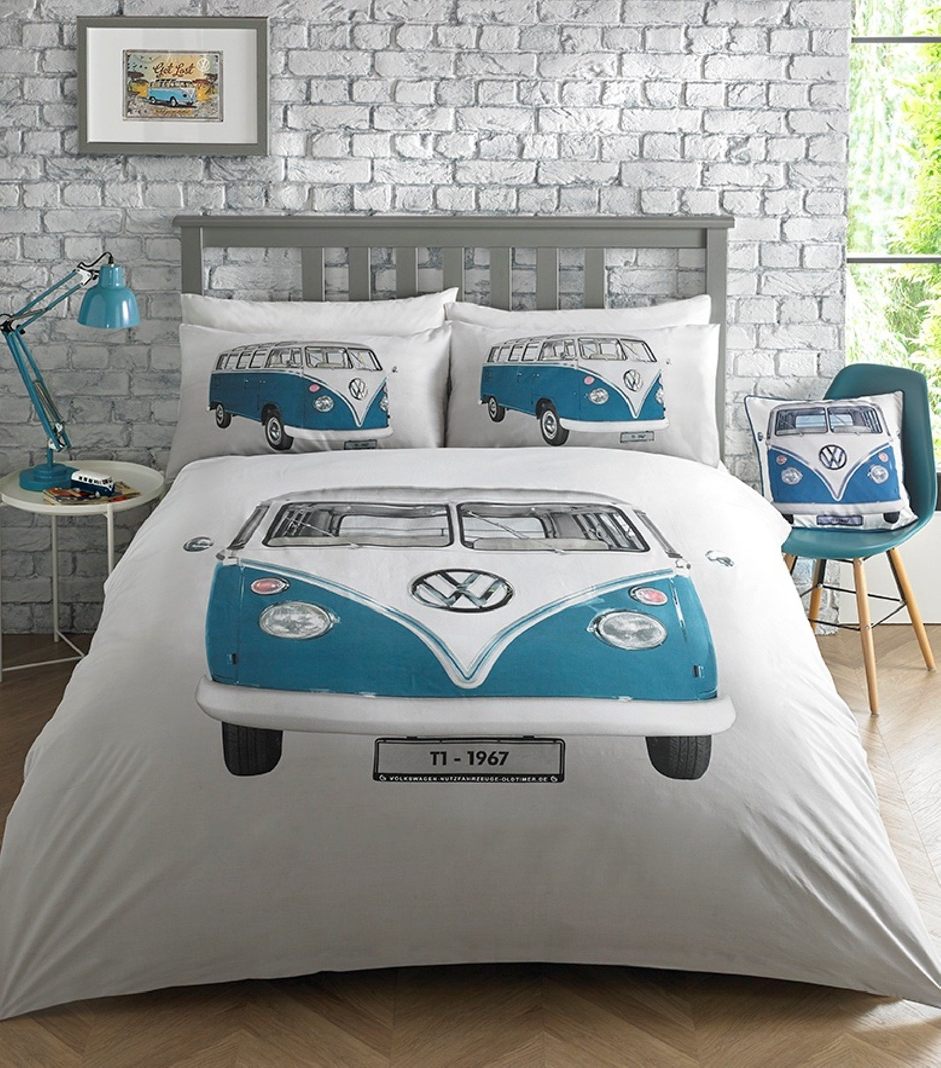 Best Vw Volkswagen On Tour Duvet Quilt Cover Set Bedding With Pictures