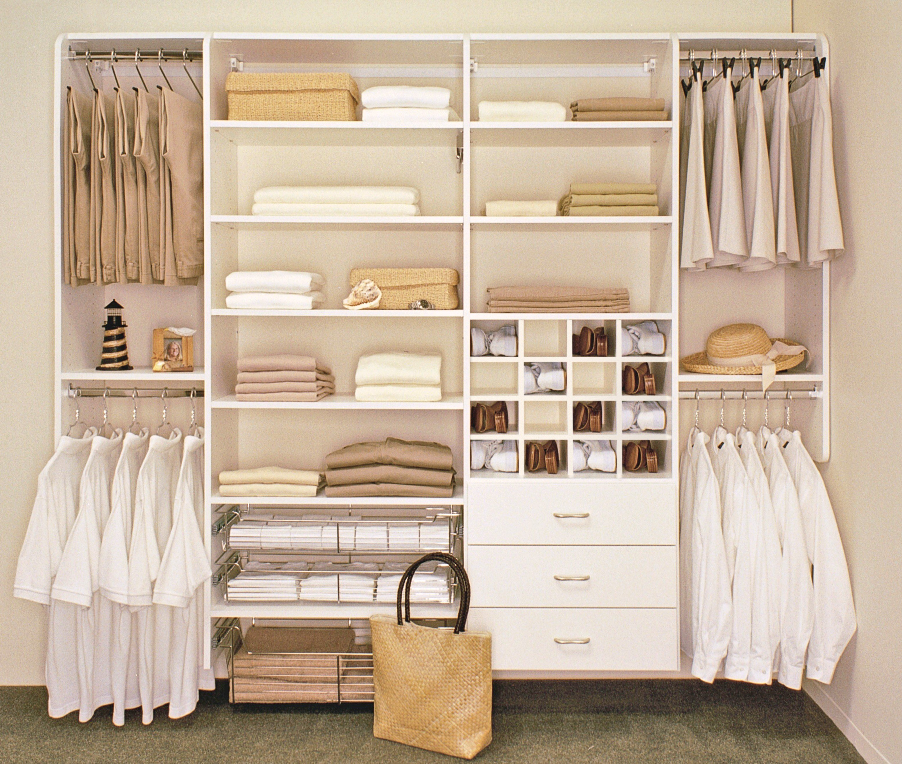 Best 20 Inspirations Of Bedroom Wardrobe Storage Systems With Pictures