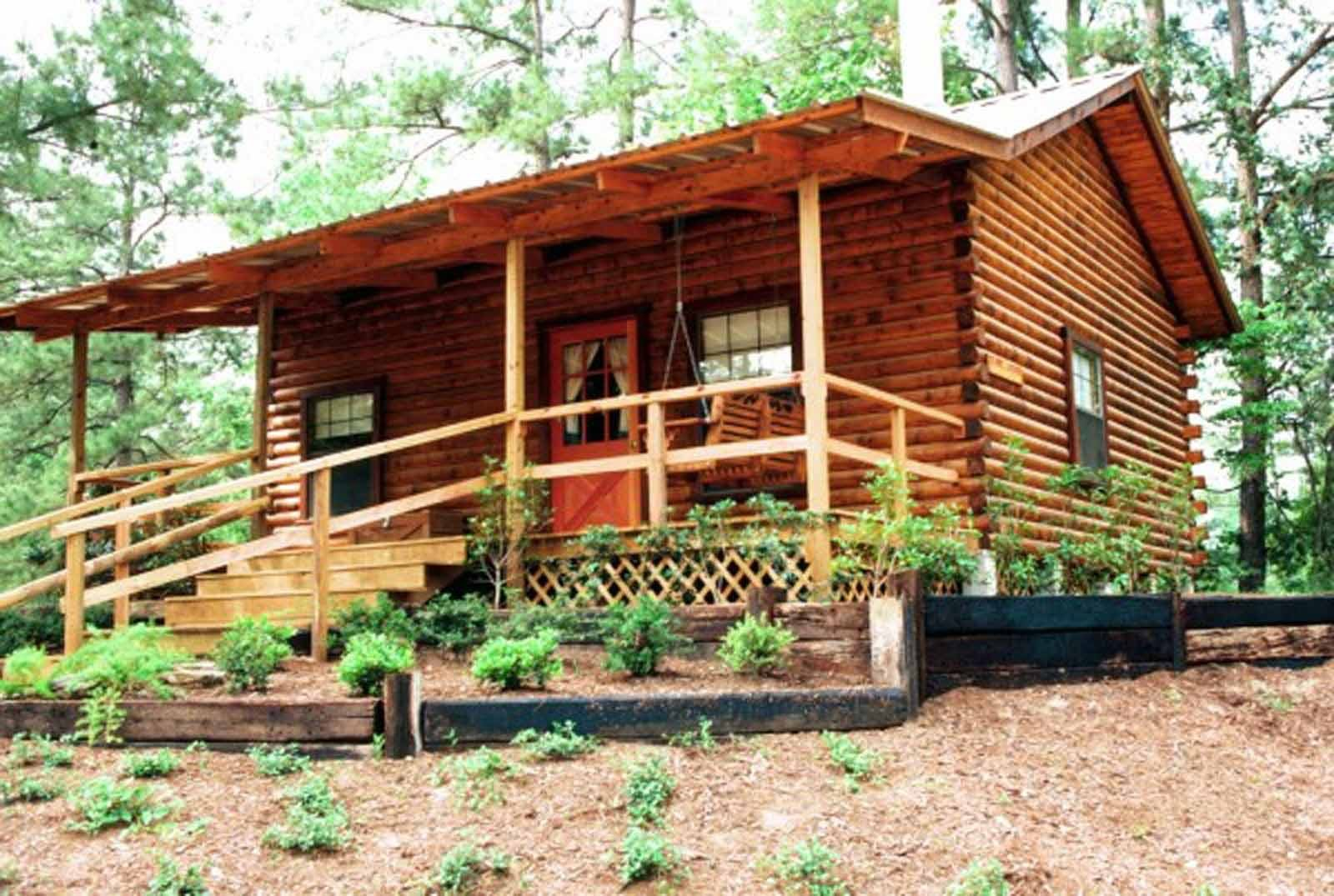 Best 1 Bedroom With Loft Log Cabin – The Retreat At Artesian Lakes With Pictures