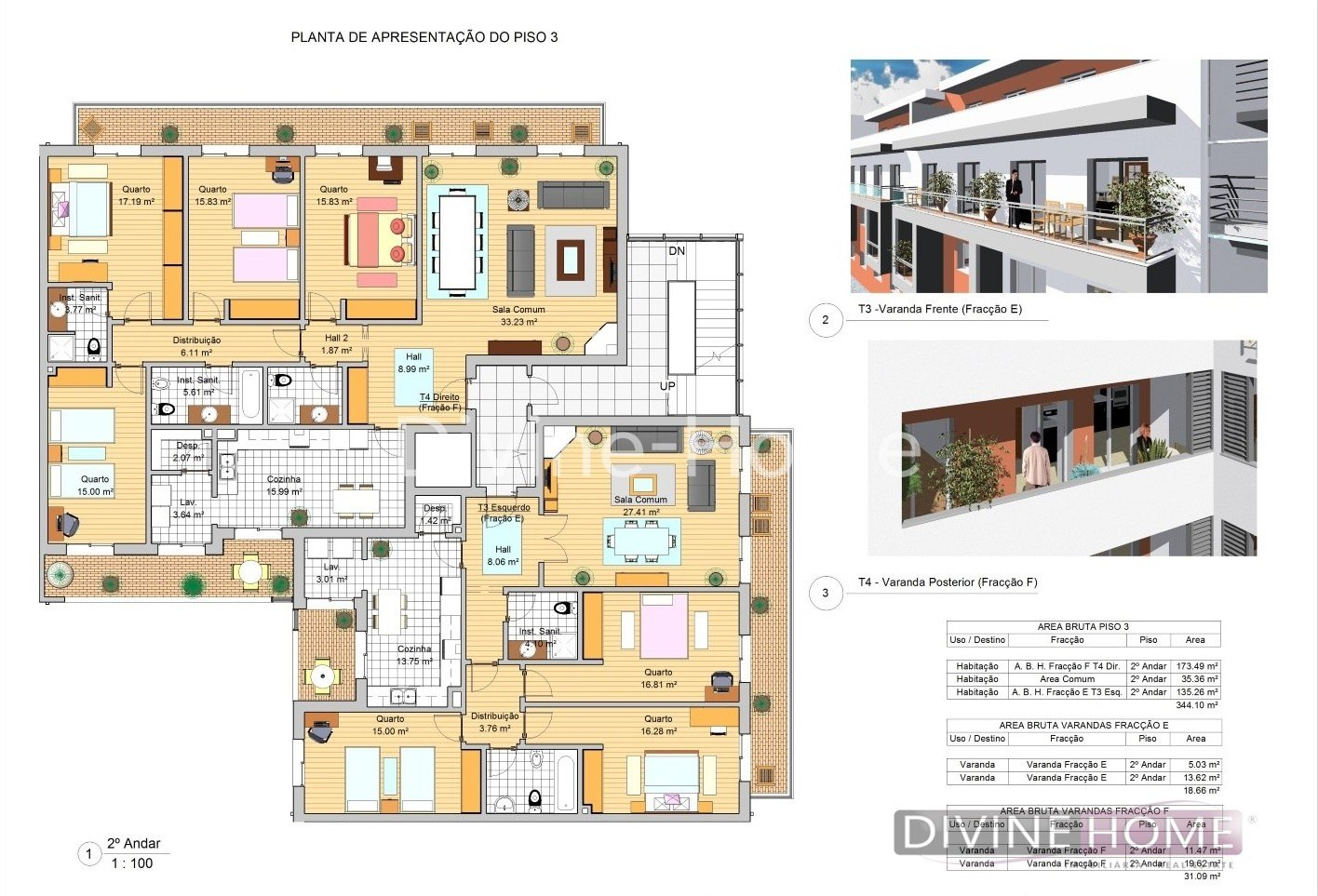 Best Luxurious 3 Bedroom Apartments Under Construction For Sale With Pictures
