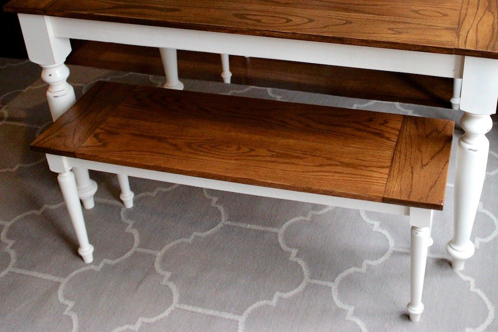 Best Diy Solid Oak Farmhouse Bench Free Easy Plans With Pictures