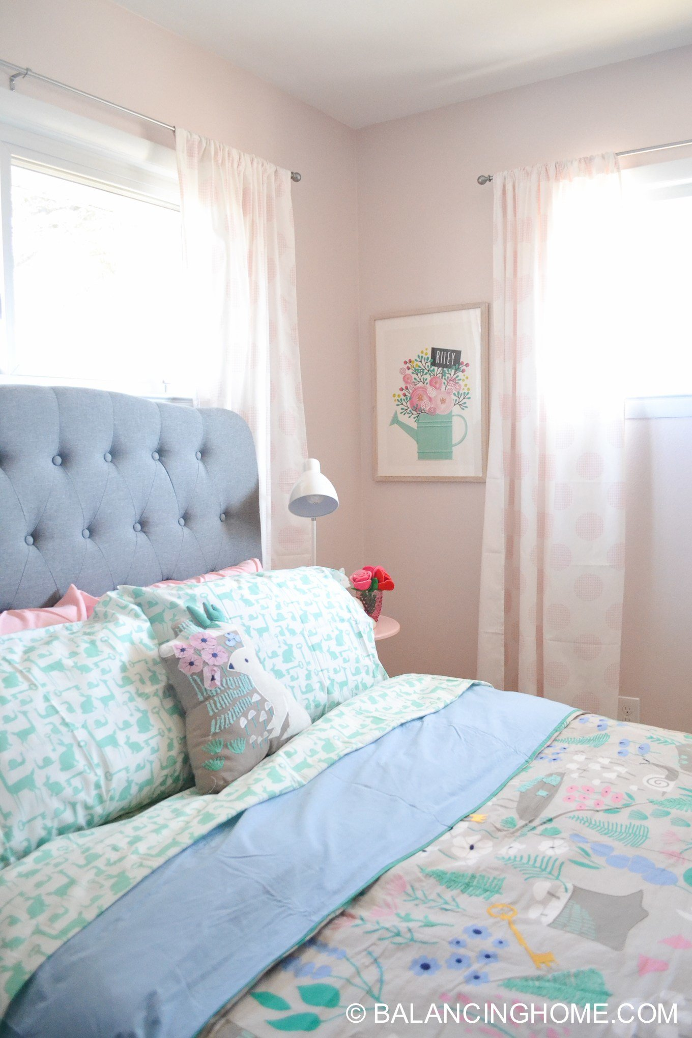 Best Girl Bedroom Makeover Woodland Forest Decorating Ideas With Pictures