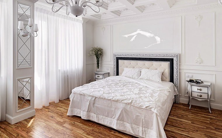 Best 12 White Bedroom Designs And Ideas In Classic Style With Pictures