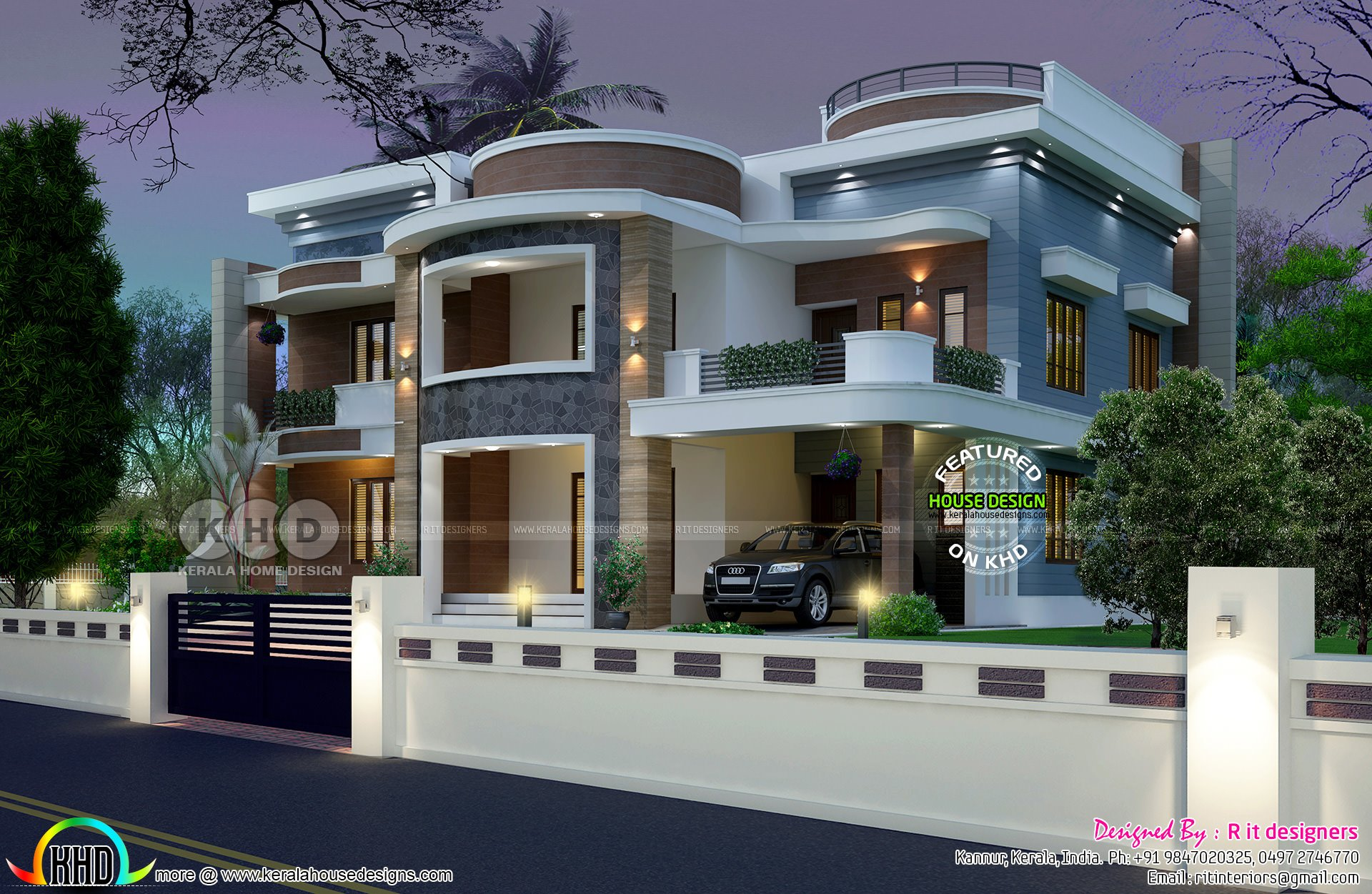 Best Astounding 6 Bedroom House Plan Kerala Home Design With Pictures