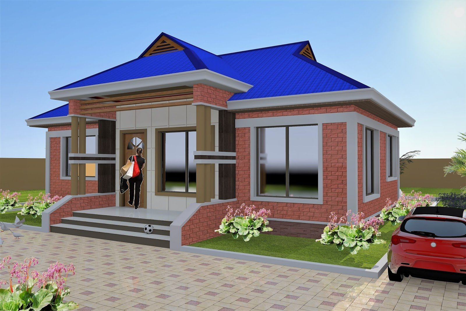 Best 3 Bedroom House Plan Hydroform Bricks Id Ma 052 With Pictures