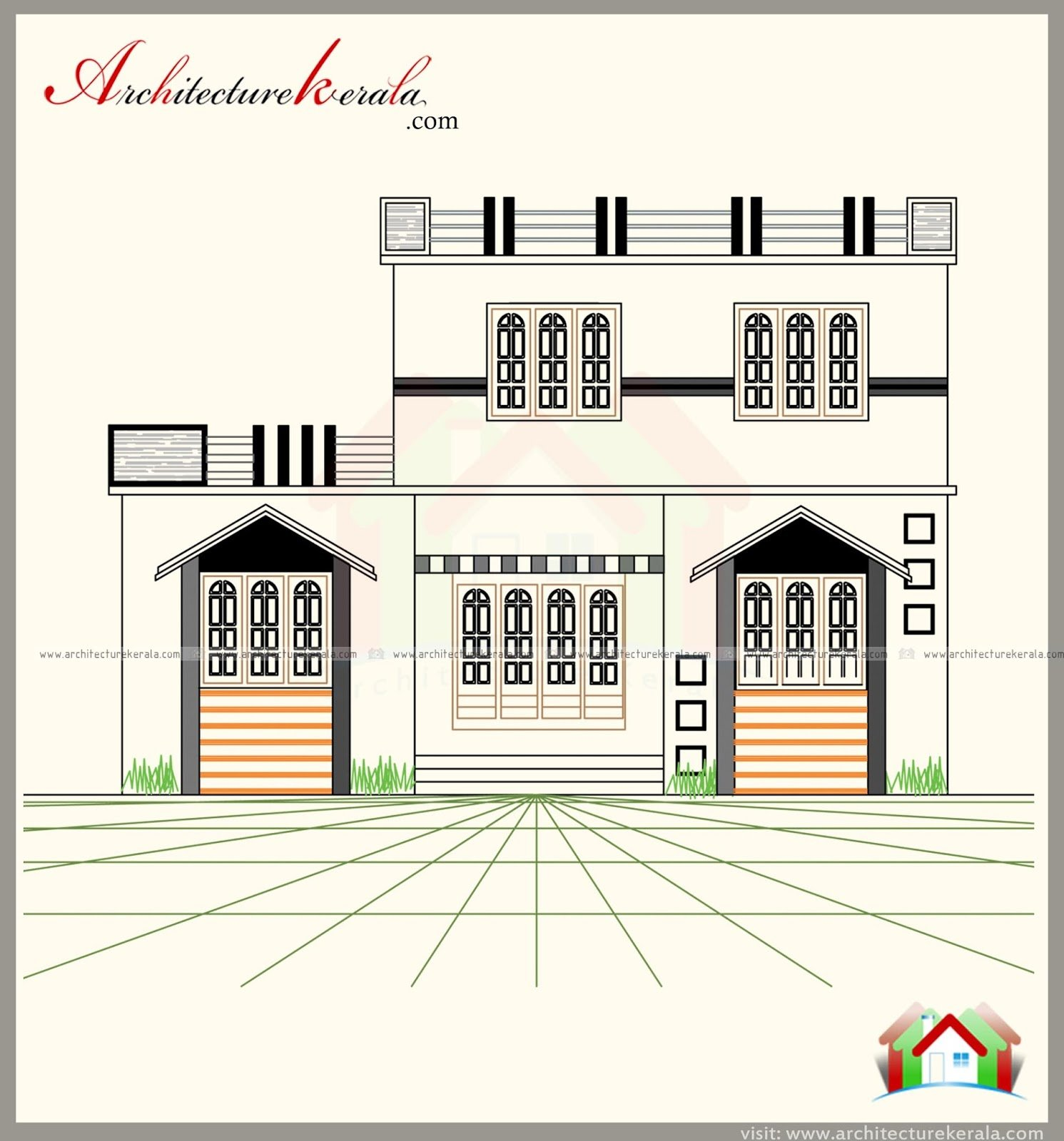 Best 3 Bedroom House Plan With Elevation Architecture Kerala With Pictures