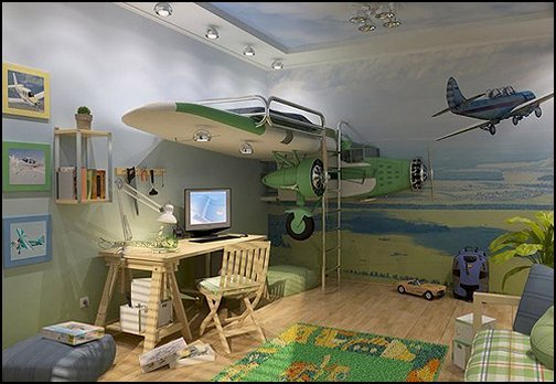 Best Decorating Theme Bedrooms Maries Manor Airplane Bed With Pictures