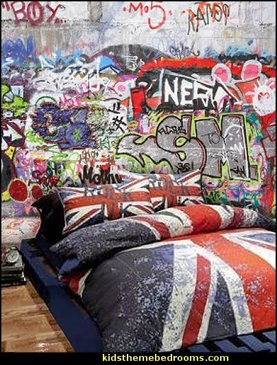 Best Decorating Theme Bedrooms Maries Manor Graffiti Wall Murals Skateboarder Bedroom Decorating With Pictures