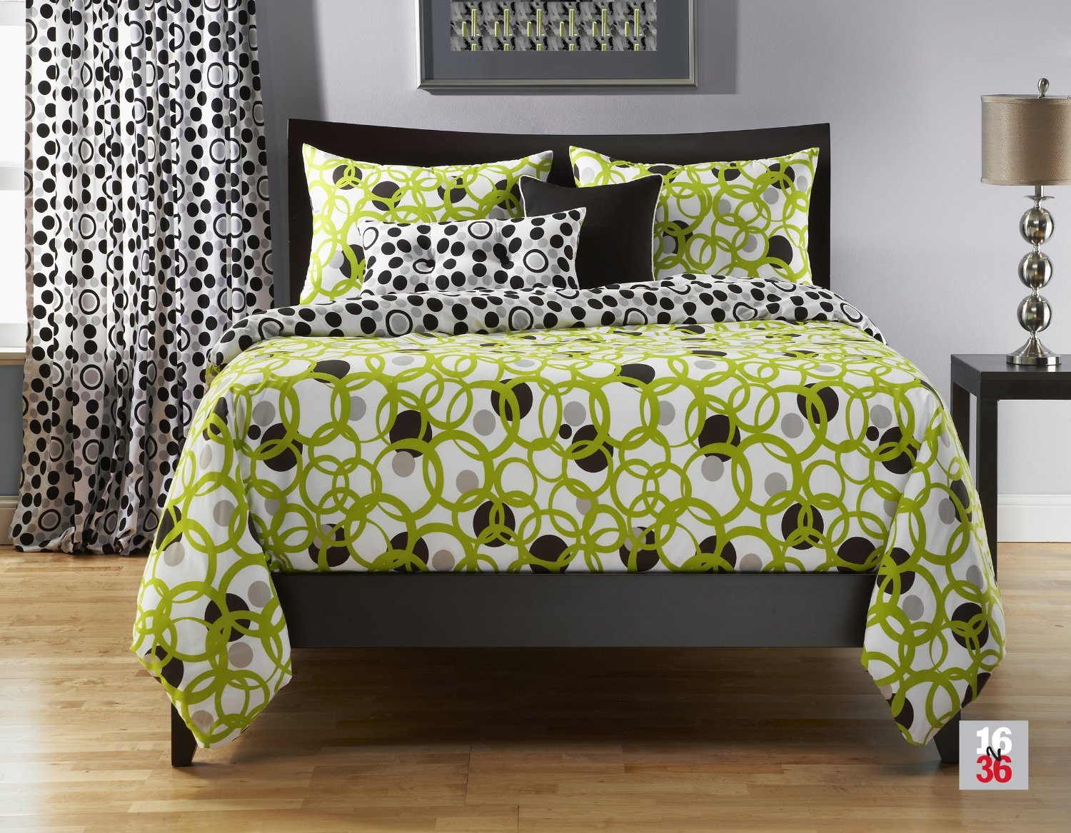 Best Lime Green And Grey Bedding Sets With Pictures