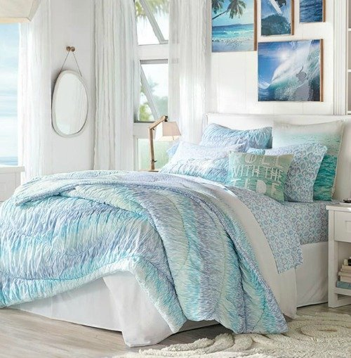 Best 10 Coastal Bedrooms From Pottery Barn Coastal Decor With Pictures