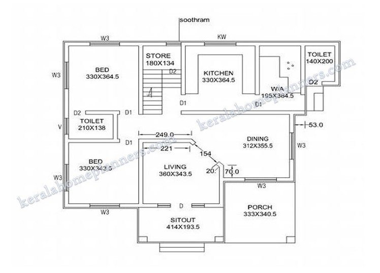 Best 4 Bedroom Stylish Home Design In 1820 Sqft With Free Plan With Pictures