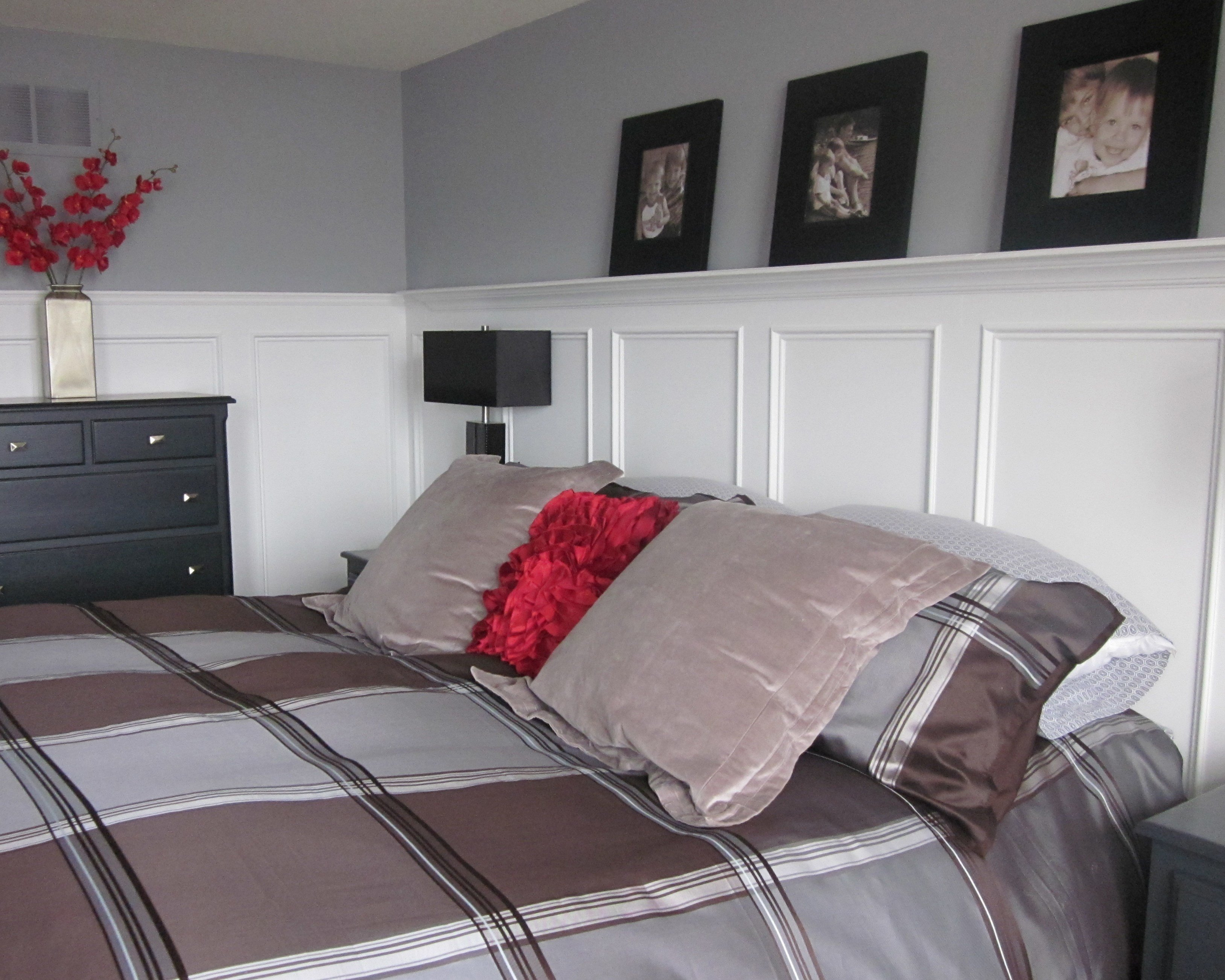 Best Master Bedroom Wainscoting Completely Type A With Pictures