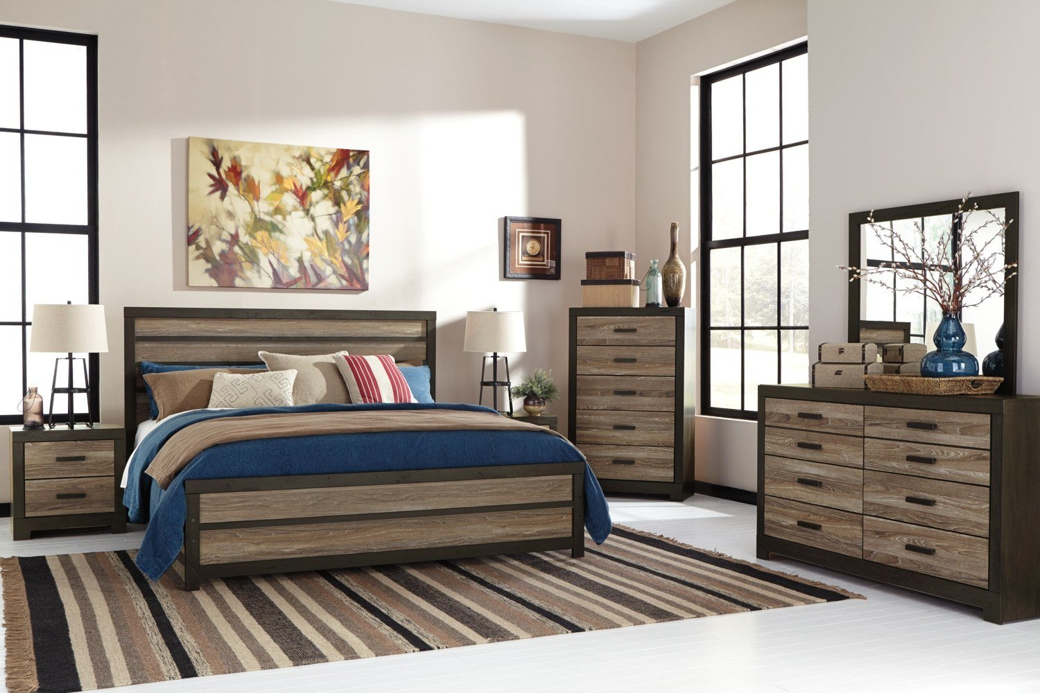 Best Harlinton King Panel Bed The Brick With Pictures