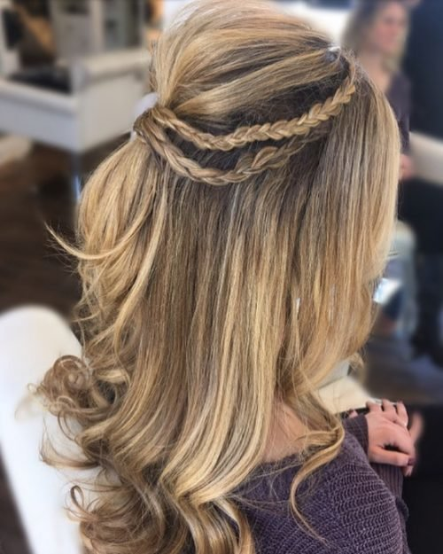 Free 50 Party Hairstyles That Are Fun Chic For 2019 Wallpaper