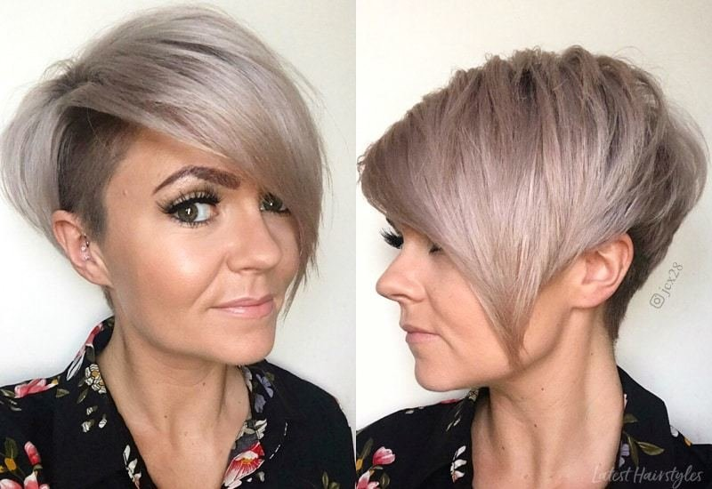 Free 42 Sexiest Short Hairstyles For Women Over 40 In 2019 Wallpaper