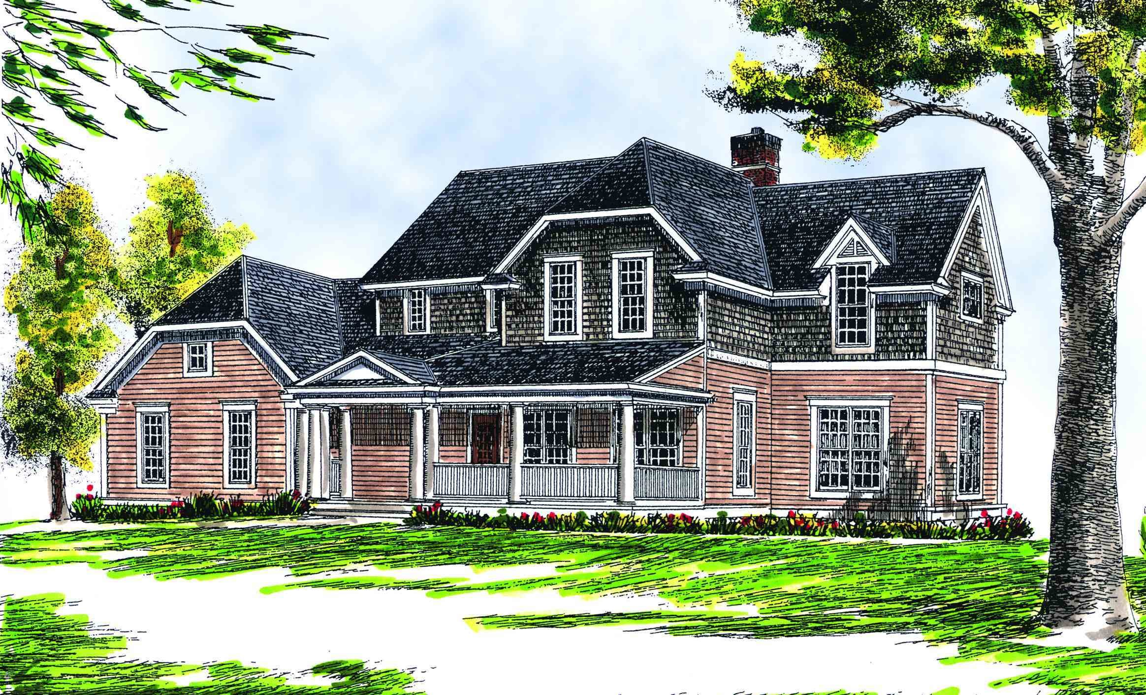 Best Four Bedroom Farmhouse Plan 89112Ah Architectural Designs House Plans With Pictures