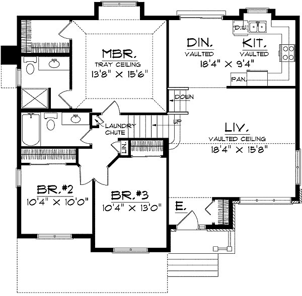 Best Split Level Home Plan 8963Ah 1St Floor Master Suite With Pictures