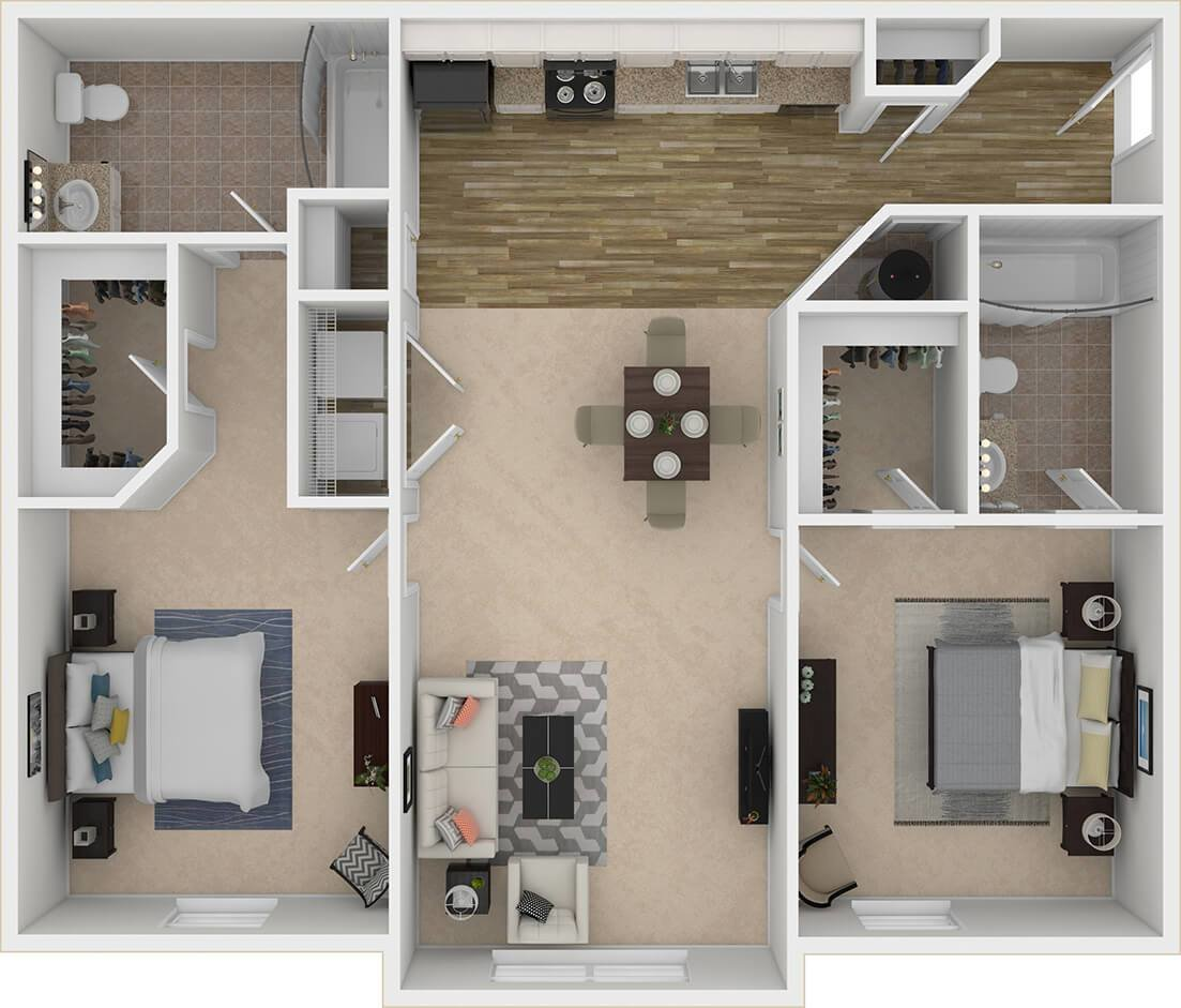 Best Society 865 Modern 2 3 Bedroom Apartments Near Ut Knoxville With Pictures