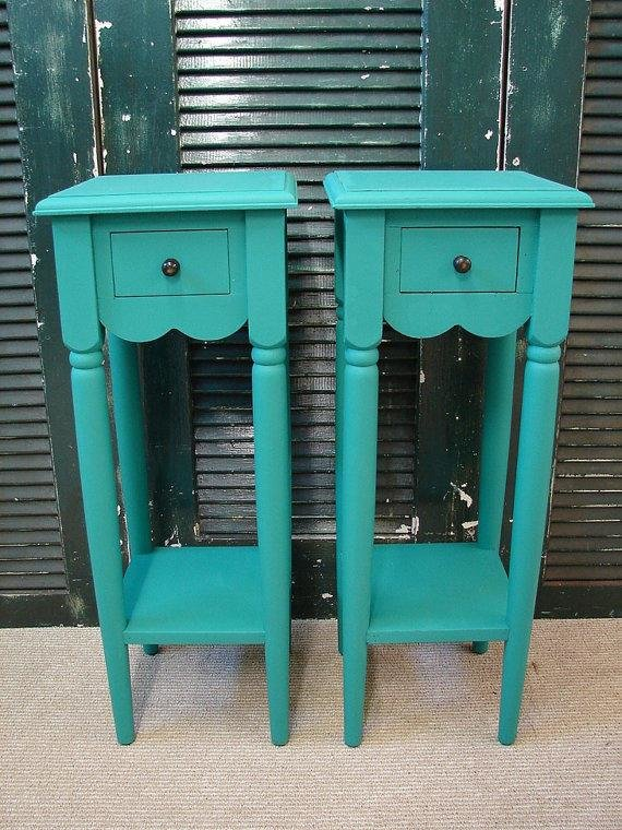 Best Reclaimed Turquoise Paint 1 Dr Tall Small From Curiositync On With Pictures