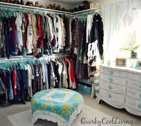 Best Before And After Spare Room Turned Closet On A Budget With Pictures
